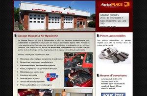 Mechanic shop Dupras Saint-Hyacinthe