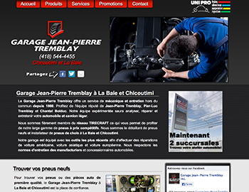 Garage Jean-Pierre Tremblay Chicoutimi
