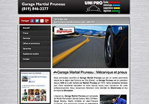 Garage Martial Pruneau St-Denis-de-Brompton