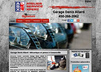 Garage Denis Allard Cowansville