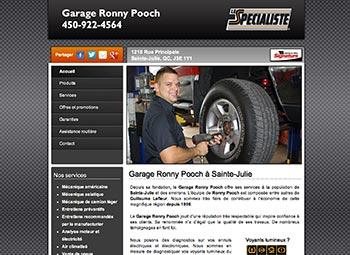 Garage Ronny Pooch Ste-Julie